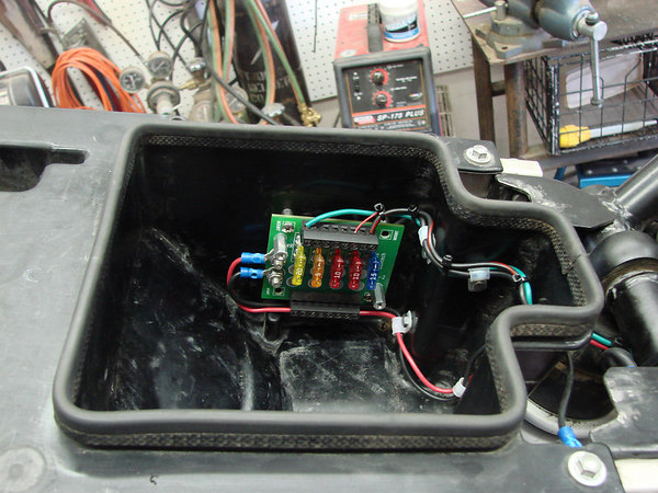 centech fuse block in the tool box